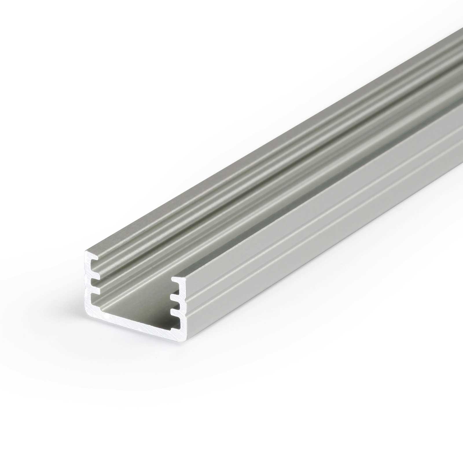 1-2 Meter LED Aufbauprofil SLIM (MI) - U-Profil