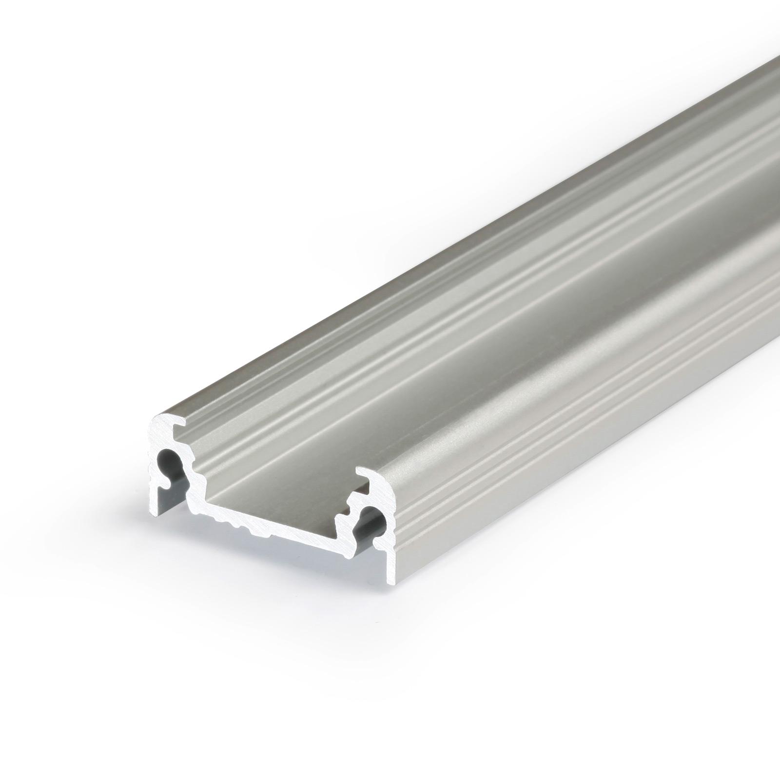 1-2 Meter LED Aufbauprofil SURFACE (SU) - U-Profil
