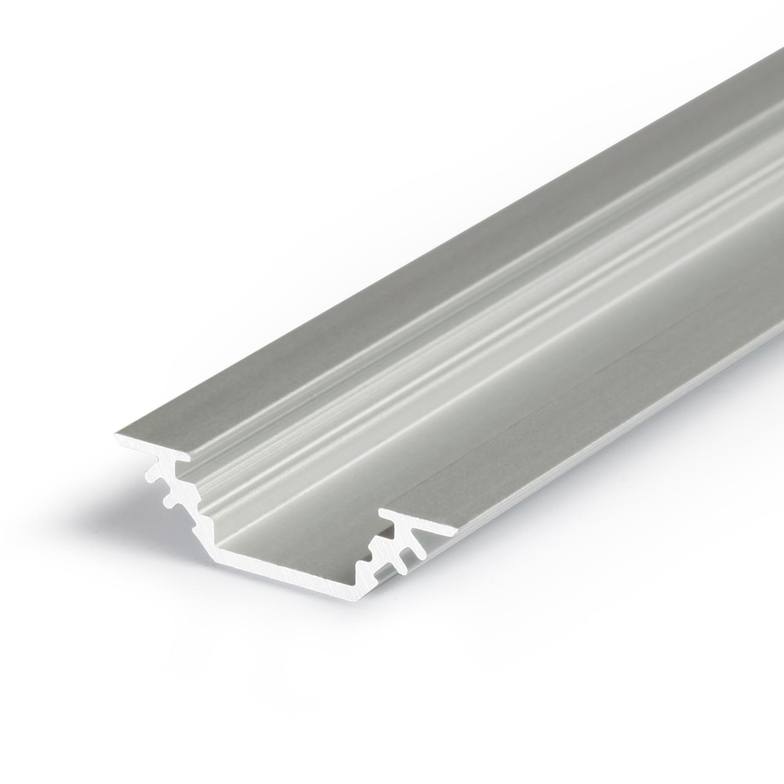 1-2 Meter LED Aufbau-Eckprofil TRIO (45°)